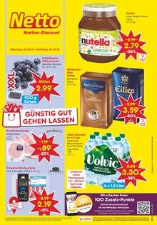 Netto Marken-Discount, GÜNSTIG GUT GEHEN LASSEN für Krefeld