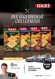 Aktueller GAZI Prospekt, Der vegetarische Grillgenuss!, Seite 1