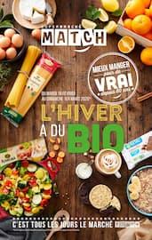 Catalogue Supermarchés Match en cours, L'hiver a du bio, Page 1
