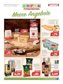 Feneberg Prospekt für Allmannsweiler b Bad Saulgau: FENEBERG. Meine Angebote, 20 Seiten, 27.10.2021 - 30.10.2021
