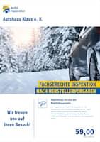 Aktueller Meisterhaft Autoreparatur Prospekt, Fachgerechte Inspektion nach Herstellervorgaben , Seite 1