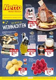 Aktueller Netto Marken-Discount Prospekt, DAS BESTE ZU WEIHNACHTEN, Seite 1