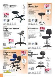 Catalogue Office DEPOT en cours, Catalogue Mobilier, tout pour votre bureau, Page 78