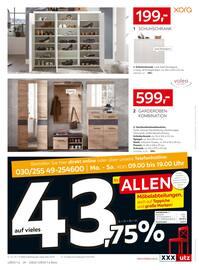 Aktueller XXXLutz Möbelhäuser Prospekt, 10.000e Artikel sofort verfügbar!, Seite 36