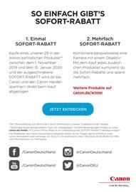 Aktueller Canon Prospekt, Catch the Cash - Bis zu 600€ Sofortrabatt, Seite 2