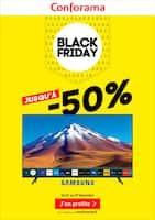 Catalogue Conforama en cours, Black Friday, jusqu'à -50%, Page 1