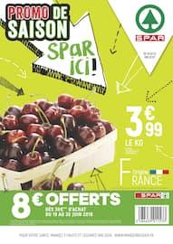 Catalogue Spar en cours, Promo de saison Spar ici !, Page 1