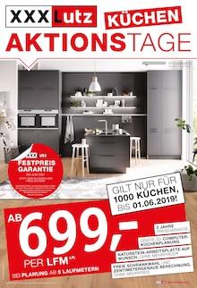 XXXLutz Möbelhäuser - Küchen-Aktionstage