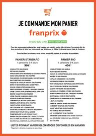 Catalogue Franprix en cours, Dispositif Covid-19, Page 2