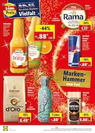 Aktueller Lidl Prospekt, Marken-Hammer zum Fest, Seite 2