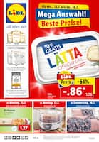 Aktueller Lidl Prospekt, Mega Auswahl, beste Preise!, Seite 1