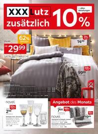 Aktueller XXXLutz Möbelhäuser Prospekt, 10% zusätzlich, Seite 1