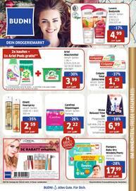 Aktueller BUDNI Prospekt, BUDNI - Dein Drogeriemarkt, Seite 1