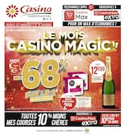Catalogue Casino Supermarchés en cours, Le mois Casino Magic !!, Page 1