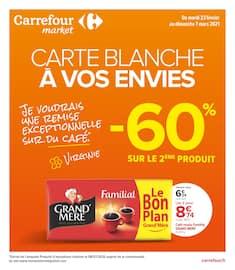 Catalogue Carrefour Market en cours, Carte blanche à vos envies, Page 1