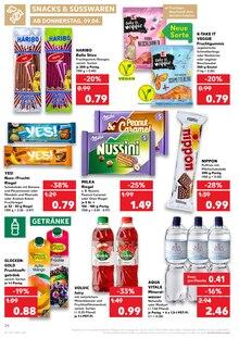 Getraenke im Kaufland Prospekt Essen ist Zusammenhalt. auf S. 23