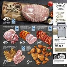 Fleisch im Real Prospekt Einmal hin. Alles drin. auf S. 2