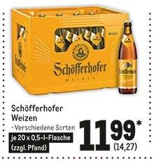 Bier im aktuellen Metro Prospekt für 14.27€