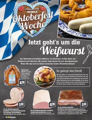 Aktueller EDEKA Prospekt, Oktoberfest Woche: O'zapft is!, Seite 2
