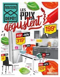 Catalogue Maison Dépôt en cours, Les prix dégustent, Page 1