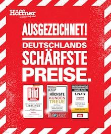 Der aktuelle Höffner Prospekt Ausgezeichnet! Deutschlands schärfste Preise.