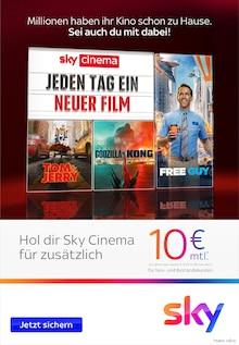 Sky Prospekt für Kankelau: Jeden Tag ein neuer Film, 3 Seiten, 30.9.2021 - 31.10.2021