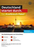 Aktueller Volkswagen Prospekt, Deutschland startet durch. Das #vwfüreuch-Paket, Seite 1