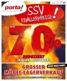 porta Möbel, SSV KNALLERPREISE! für Berlin