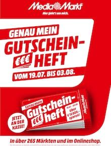 Der aktuelle Media-Markt Prospekt GENAU MEIN GUTSCHEINHEFT