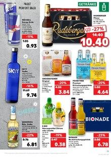 Alkoholische Getraenke im Kaufland Prospekt DIE GROSSE 1€ AKTION. JETZT 0.97 auf S. 28