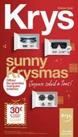 Catalogue Krys en cours, Sunny Krysmas, Page 1