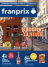 Catalogue Franprix en cours, Croquons la ville, Page 1