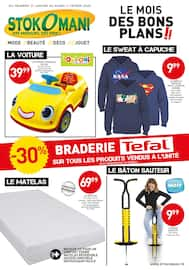 Catalogue Stokomani en cours, Le mois des bons plans !!, Page 1