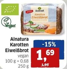 Brot von ALNATURA im aktuellen BUDNI Prospekt für 1.69€