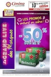 Catalogue Casino Supermarchés en cours, Les promos entrent en scène !, Page 1