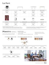 Catalogue H&H en cours, Guide d'inspiration & art de vivre, Page 183