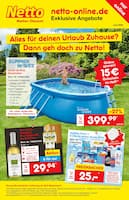 Aktueller Netto Marken-Discount Prospekt, Alles für deinen Urlaub Zuhause? Dann geh doch zu Netto!, Seite 1