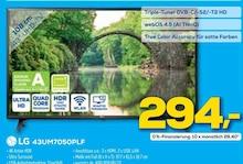 Fernseher von LG im aktuellen EURONICS Prospekt für 294€