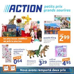 Catalogue Action en cours, Les plus beaux cadeaux au prix le plus bas, Page 1