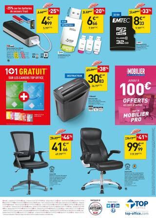 Catalogue Top Office en cours, Chaud ! les promos, Page 2