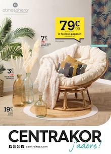 "Centrakor Catalogue ""Centrakor, j'adore !"", 8 pages, Montgeroult,  17/10/2021 - 31/10/2021"