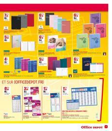 Catalogue Office DEPOT en cours, Fournitures, papeterie, cartables... Les meilleures offres avec les experts de la rentrée ! , Page 9