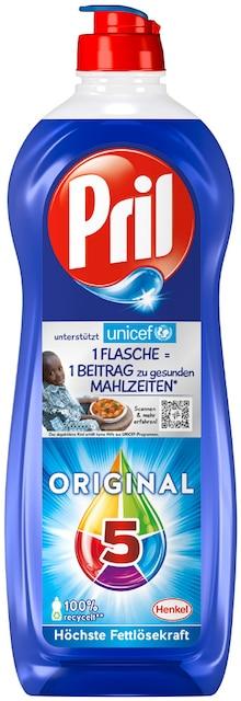 Reinigungsmittel von Pril im aktuellen REWE Prospekt für 1.11€