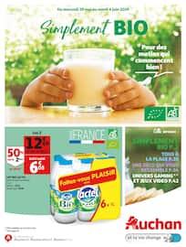 Catalogue Auchan en cours, Simplement BIO, Page 1