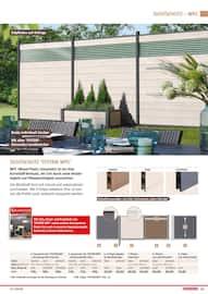 Aktueller BAUHAUS Prospekt, Gartengestaltung/Metallzaun, Seite 83