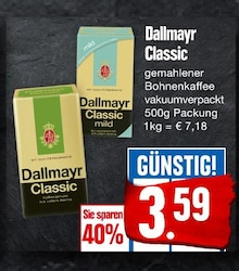 Kaffee von Dallmayr im aktuellen EDEKA Prospekt für 3.59€