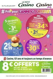 Catalogue Casino Shop en cours, # Prêt pour l'anniv' surprise !, Page 1