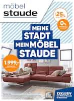 Aktueller Möbel Staude Prospekt, Meine Stadt. Mein Möbel Staude, Seite 1