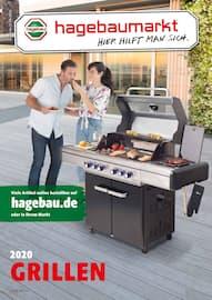 Aktueller hagebaumarkt Prospekt, GRILLEN 2020, Seite 1