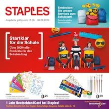 Staples - Startklar für die Schule